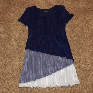 Blue Connected Apparel Dress